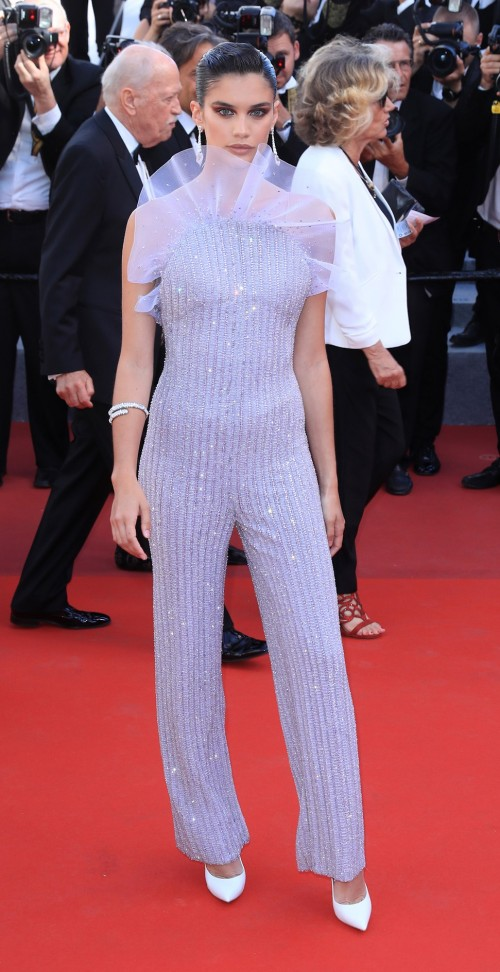 Yay or Nay? Sara Sampaio attends the 120 Beats Per Minute screening during the 70th annual Cannes Film Festival - SeenIt