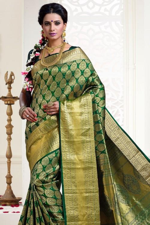 Need a Similar looking kanjeevaram saree - SeenIt
