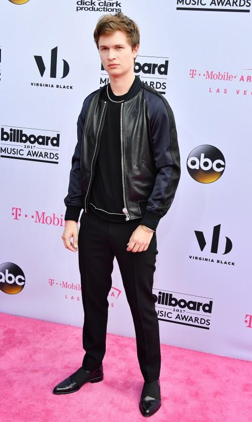 Yay or Nay? Ansel Elgort also spotted at the Billboard Music Awards Red Carpet last night in Vegas - SeenIt