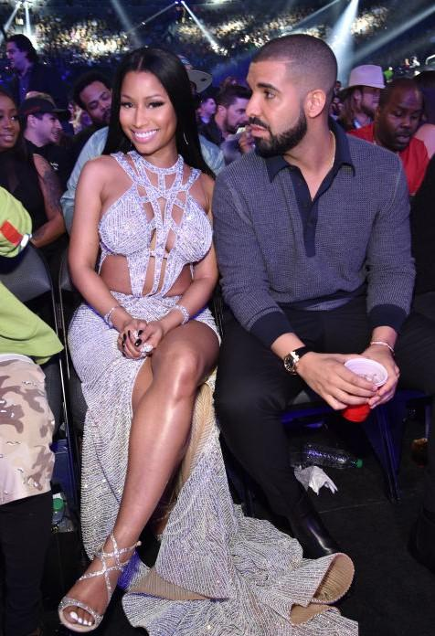 Yay or Nay? Nicki Minaj wearing a silver embellished cut out gown at the Billboard Music Awards last night in Vegas - SeenIt