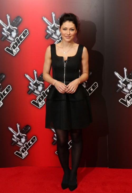 Can anyone find me a similar black dress like Emma Willis is wearing? - SeenIt