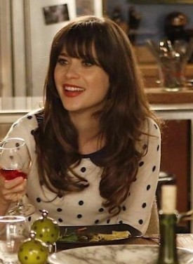 I'm looking for a similar top like zooey is wearing - SeenIt