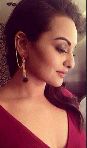 Looking for similar black and gold earrings as seen on Sonakshi Sinha - SeenIt