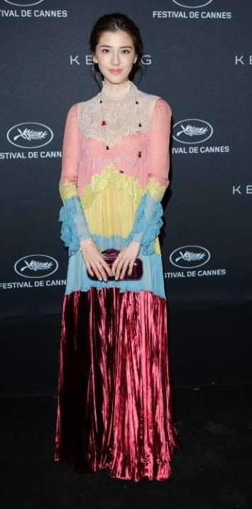Yay or Nay? Fan Bingbing opted for a colorful Gucci outfit for the Kering dinner during the Cannes Film Festival - SeenIt