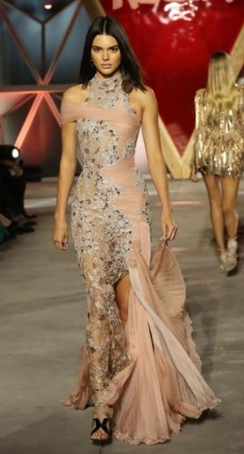 Yay or Nay? Kendall Jenner on the Fashion for Relief runway in a Versace gown during the Cannes Film Festival - SeenIt