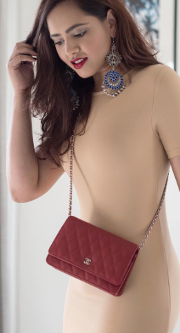 I'm looking for a similar red sling bag as seen on styledrive - SeenIt