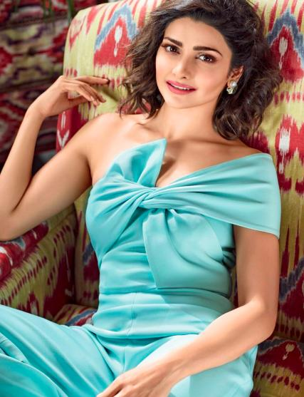 Looking for a similar aqua blue one shoulder jumpsuit as seen on Prachi Desai - SeenIt
