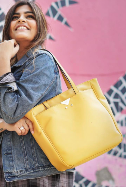 I'm looking for a yellow handbag as seen on thatbohogirl - SeenIt