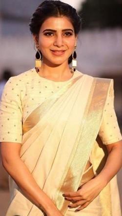 Yay or Nay ? Samantha Ruth Prabhu in an ivory saree - SeenIt