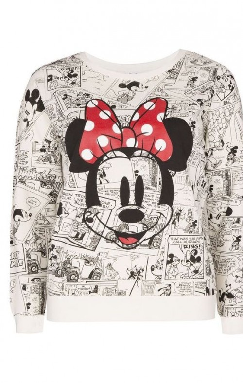 Want this minni mouse printed sweater - SeenIt