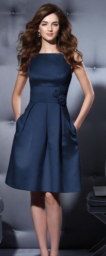Want a similar navy sleeveless dress - SeenIt