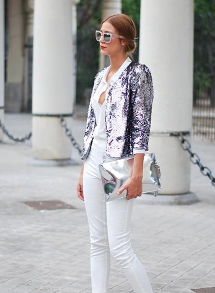 Looking for a sequinned jacket from a domestic site - SeenIt