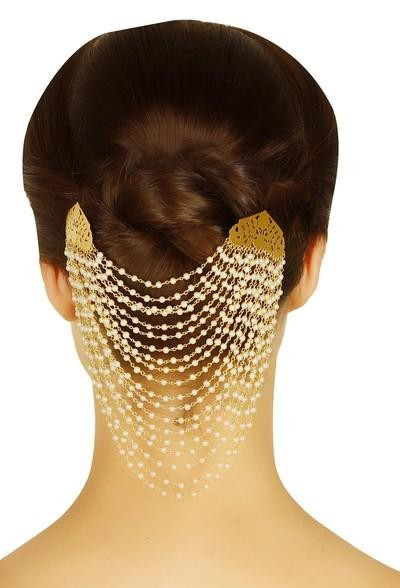 Looking for this gold plated hair accessory - SeenIt