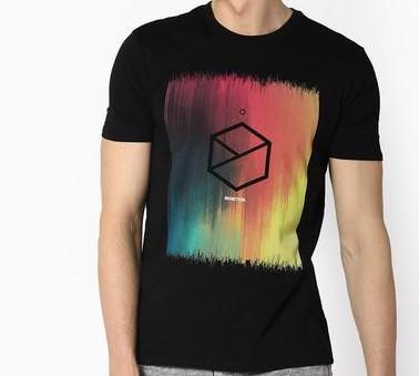 Want this black printed tshirt - SeenIt