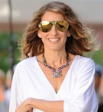 Help me find similar sunglasses as Sarah Jessica Parker is wearing - SeenIt