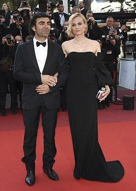 Yay or Nay? Diane Kruger in a black off shoulder gown at the closing ceremony of Cannes Film Festival - SeenIt