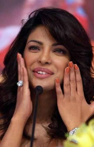 Looking for a similar orange nail colour as seen on Priyanka Chopra - SeenIt