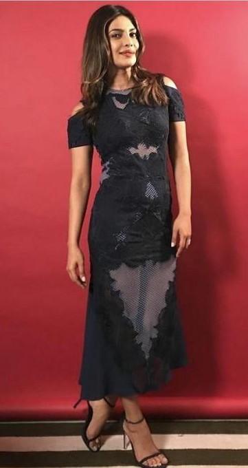 baywatch priyanka chopra pink dress