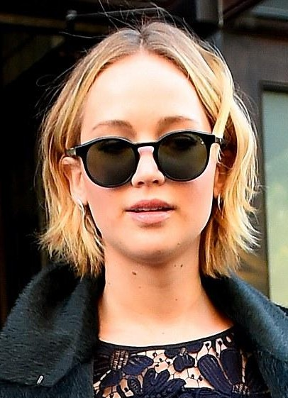 b265437b89 Looking for a similar black round sunglasses like Jennifer Lawrence is  wearing - SeenIt