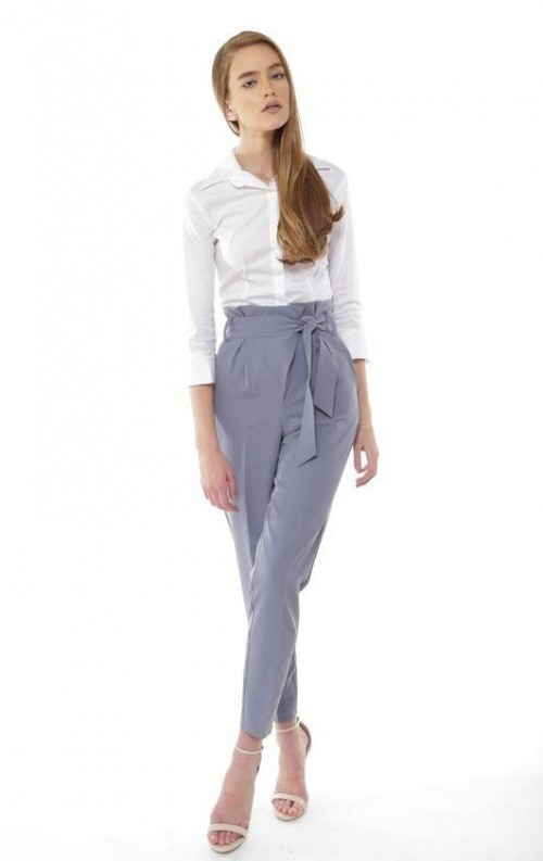 Looking for such high-waisted trousers - SeenIt
