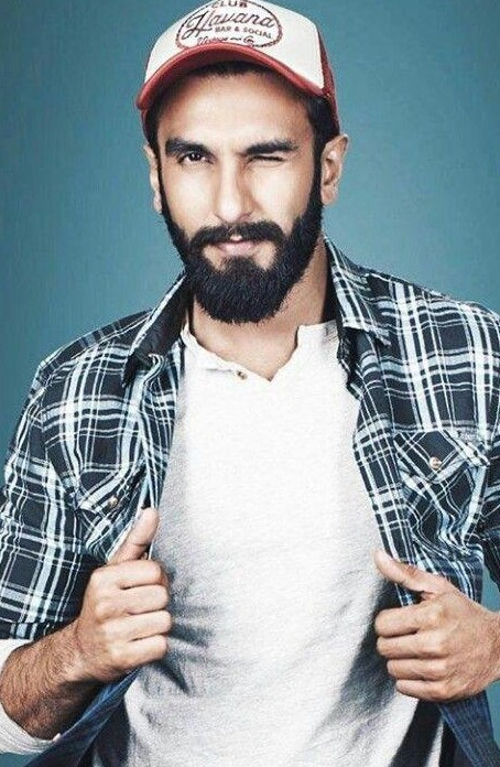 Looking for a similar white fullsleeves tshirt and checkered shirt as seen on ranveer singh,please help? - SeenIt