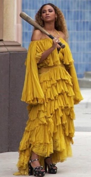 I'm looking for this yellow dress from Beyonce's Lemonade video - SeenIt