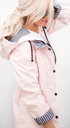 Want a baby pink raincoat like this - SeenIt