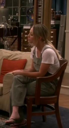 Need a similar olive green jumpsuit like Penny's - SeenIt
