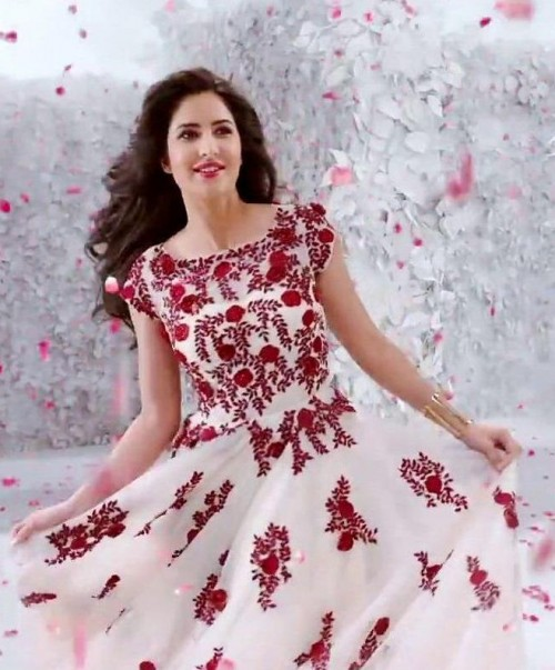 want a similar looking white floral gown which Katrina Kaif is wearing - SeenIt