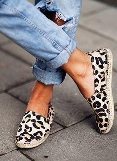 Looking for these leopard print espadrilles. Any idea where to find them? - SeenIt