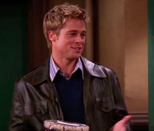 Want the leather jacket which Brad Pitt wore in friends - SeenIt