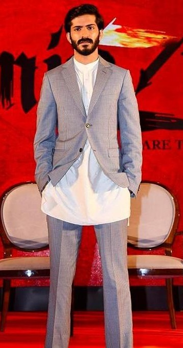 Looking for a similar grey suit...blazer and trousers that Harshvardhan Kapoor is wearing. - SeenIt