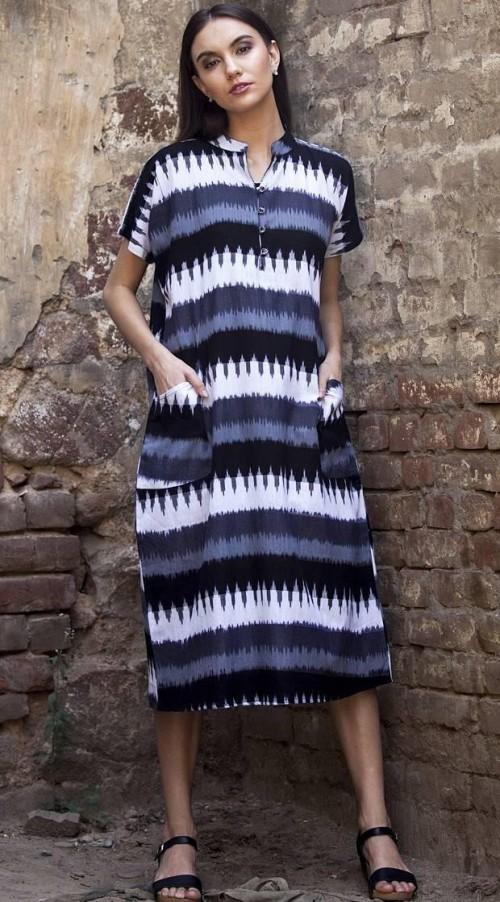 Help me find this ikat midi shift dress online please. - SeenIt