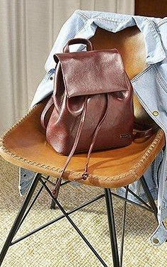 Want this brown backpack. Can you help me find it? - SeenIt