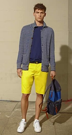 Looking for similar yellow shorts as seen on him. - SeenIt
