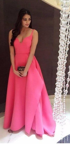 Looking for Athiya Shetty's pink flare gown - SeenIt