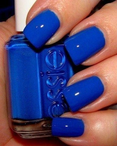Where can i find a similar cobalt blue nailpolish as seen here? - SeenIt
