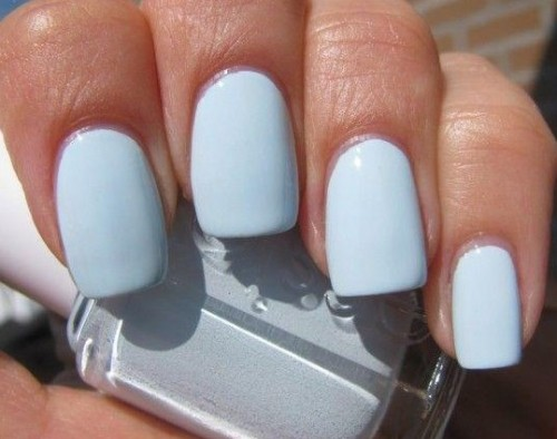 Help me find a similar pastel blue nailpolish please? - SeenIt