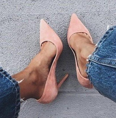 Want a similar pastel pumps as seen here. - SeenIt
