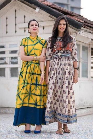 Want the yellow maxi dress which Urmi Daga is wearing - SeenIt