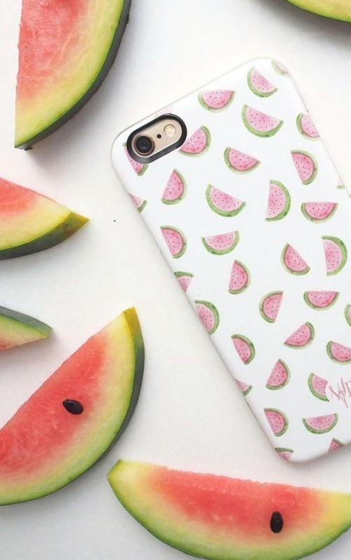 This watermelon print phone case is what I am looking for. - SeenIt