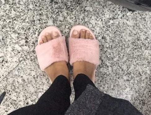 Really want these super comfy fur slip-ons. - SeenIt