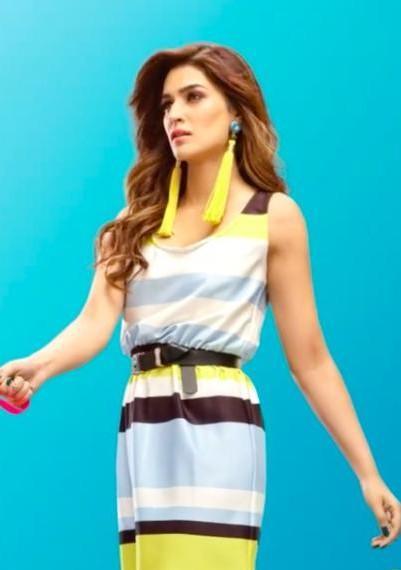 Looking for a similar multicoloured dress that Kriti Sanon is wearing. - SeenIt