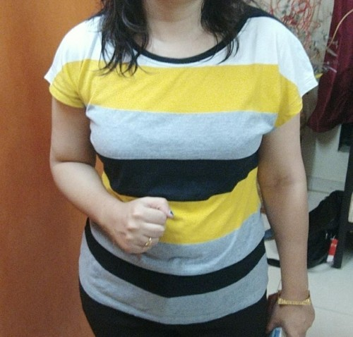 I am looking for similar striped top - SeenIt