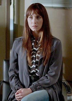 Need a similar grey trench coat that Spencer is wearing - SeenIt