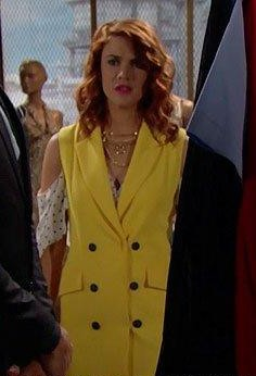 Sally's sleeveless coat is something I have been looking for online , can you help me find a similar one, in any other color - SeenIt