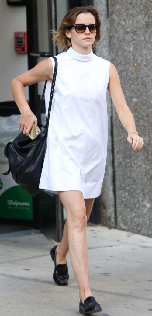 emma watson white sneakers