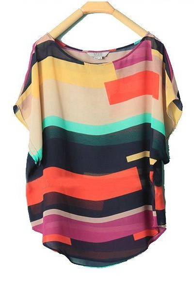 Looking for this multicolour striped top. Any idea where to find it? - SeenIt