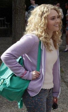 Want a similar purple zipper jacket that Carrie wore - SeenIt