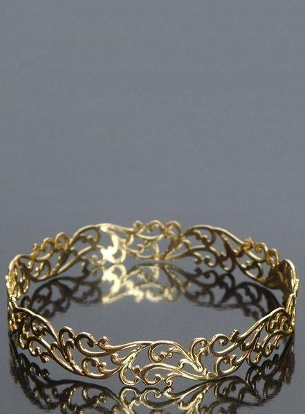 Love to have this golden delicate cuff bracelet..Help me find it!! - SeenIt